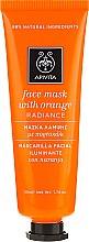 Kup Rozświetlająca maska do twarzy Pomarańcza - Apivita Radiance Face Mask with Orange
