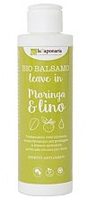 Kup Balsam do włosów bez spłukiwania Moringa i len - La Saponaria Leave-in Conditioner Moringa & Lino