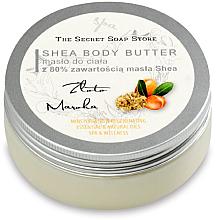 Kup PRZECENA! Masło do ciała z 80% zawartością masła shea Złoto Maroka - The Secret Soap Store Gold Of Morocco Shea Body Butter *