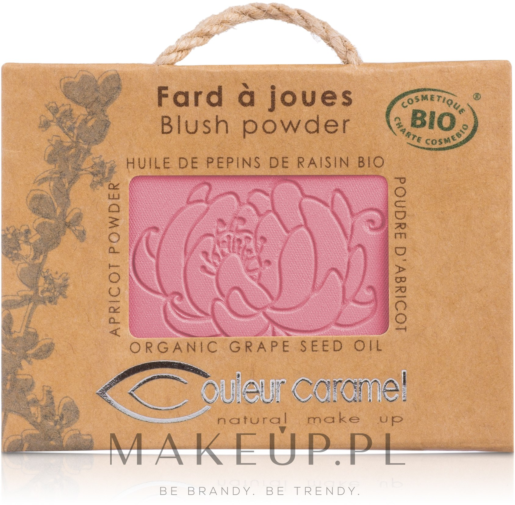 Mineralny róż do policzków - Couleur Caramel Blush Powder — фото 52 - Fresh Rose