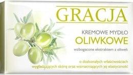 Kup Kremowe mydło oliwkowe - Gracja