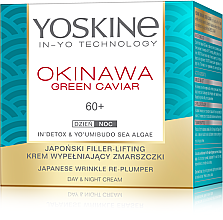 Kup Krem wypełniający zmarszczki 60+ - Yoskine Okinava Green Caviar 60+