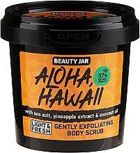 Kup Peeling do ciała - Beauty Jar Aloha Hawaii Gently Exfoliating Body Scrub