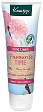 Kup Krem do rąk z olejkiem migdałowym - Kneipp Favourite Time Cherry Blossom Hand Cream