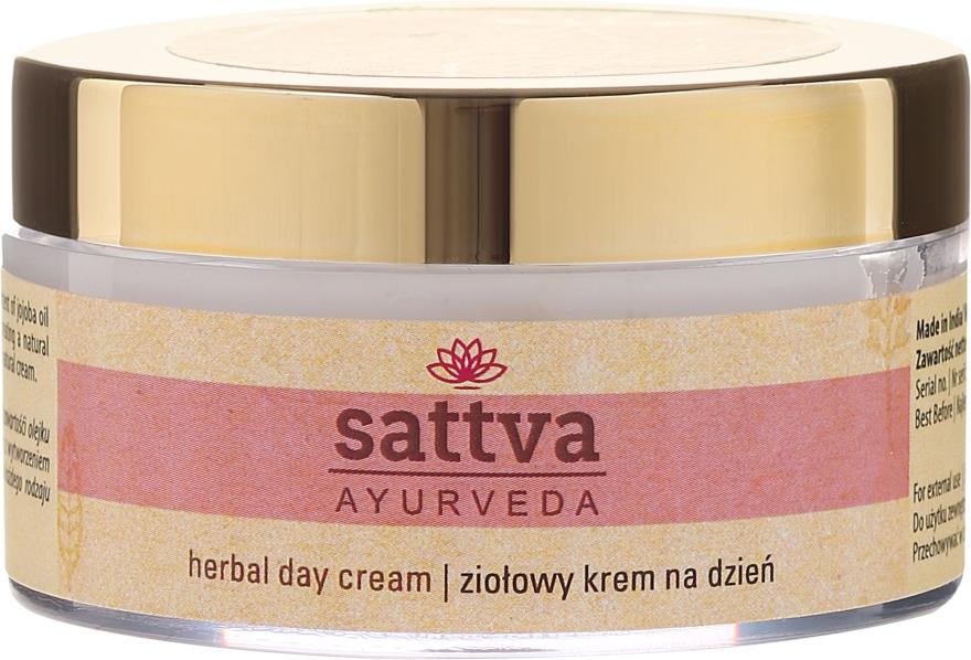 Ziołowy krem na dzień - Sattva Ayurveda — фото N2