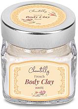 Kup PRZECENA! Biała glinka do ciała - Chantilly Body Clay White *