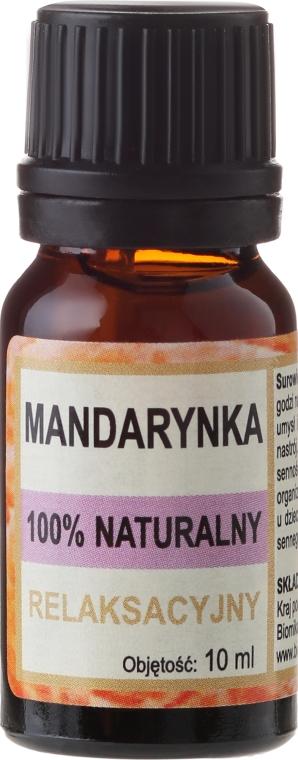 Naturalny olejek mandarynkowy - Biomika