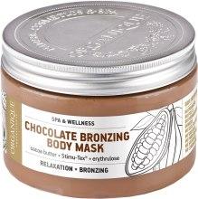 Kup Brązująca maska do ciała Czekolada - Organique Professional Spa Therapie Chocolate Bronzing Body Mask