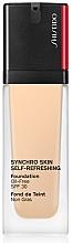 Kup PRZECENA! Nawilżający podkład do twarzy - Shiseido Synchro Skin Self-Refreshing Foundation SPF 30 *