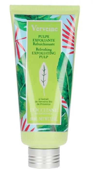 Kremowy peeling do ciała - L'Occitane Verbena Refreshing Exfoliating Pulp — фото N1