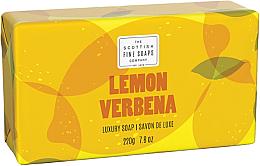 Kup Mydło w kostce - Scottish Fine Soaps Lemon & Verbena Luxury Wrapped Soap
