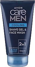 Kup Chłodzący żel do mycia i golenia - Avon Care Men Cooling Face Wash&Shave Gel