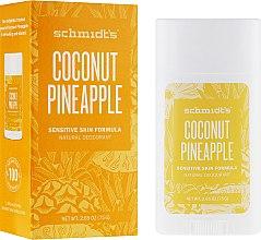 Kup Naturalny dezodorant w sztyfcie Kokos i ananas - Schmidt's Natural Deodorant Coconut Pineapple