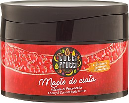 Regenerujące masło do ciała Wiśnia i porzeczka - Farmona Tutti Frutti Cherry & Currant — фото N1