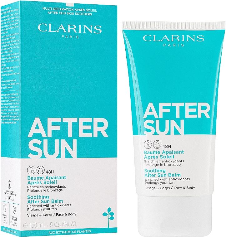 Łagodzący balsam po opalaniu do twarzy i ciała - Clarins Soothing After Sun Balm 48H — фото N2