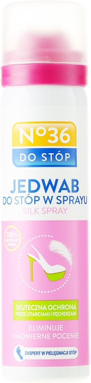 Jedwab w sprayu do stóp - Pharma CF No.36
