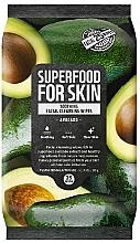 Kup Kojące chusteczki oczyszczające do twarzy Awokado - Superfood For Skin Facial Cleansing Wipes