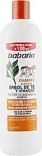Kup Szampon dla dzieci z ekstraktem z octu quassia i olejkiem z drzewa herbacianego - Babaria Vinegar Extract And Tea Tree Oil Shampoo