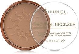 Kup Puder brązujący do twarzy - Rimmel Natural Bronzer Powder