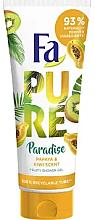 Kup Owocowy żel pod prysznic Papaja i Kiwi - Fa Pure Paradise Shower Gel Papaya & Kiwi
