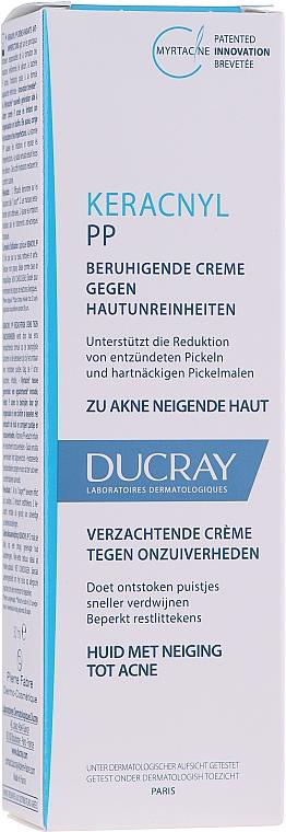 Kojący krem przeciw niedoskonałościom skóry - Ducray Keracnyl PP Anti-Blemish Soothing Cream
