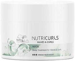 Kup Intensywna maska odżywcza do włosów kręconych - Wella Professionals Nutricurls Mask