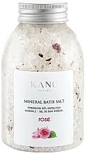 Kup Sól mineralna do kąpieli Róża - Kanu Nature Rose Mineral Bath Salt