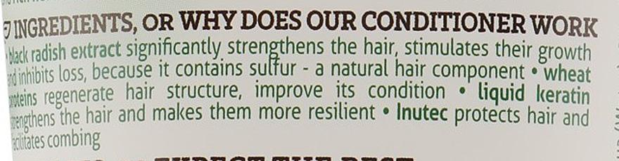 Odżywka do włosów wypadających Czarna rzepa - Farmona Herbal Care — фото N3