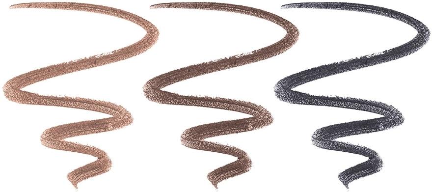 Zestaw trzech eyelinerów w ciepłych odcieniach - Physicians Formula Shimmer Strips Custom Eye Enhancing Eyeliner Trio Warm Nude Eyes — фото N6