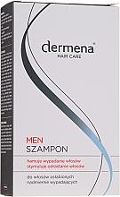 Kup Szampon dla mężczyzn hamujący wypadanie i stymulujący odrastanie włosów dla mężczyzn - Dermena Hair Care Men Shampoo