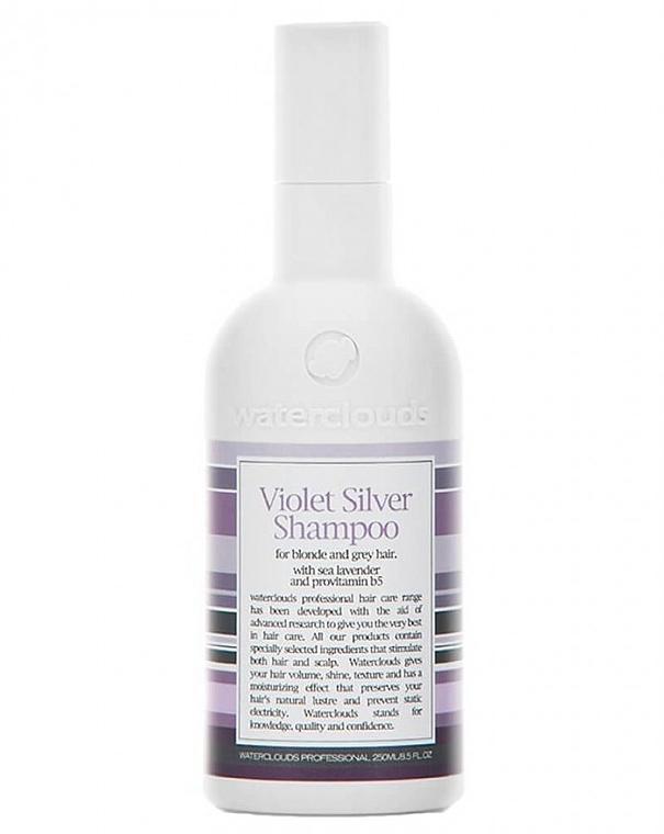 Szampon neutralizujący żółty odcień - Waterclouds Violet Silver Shampoo — фото N1