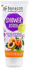 Kup Peeling pod prysznic Morela i czarny bez - Benecos Natural Care Apricot & Elderberry Shower Scrub