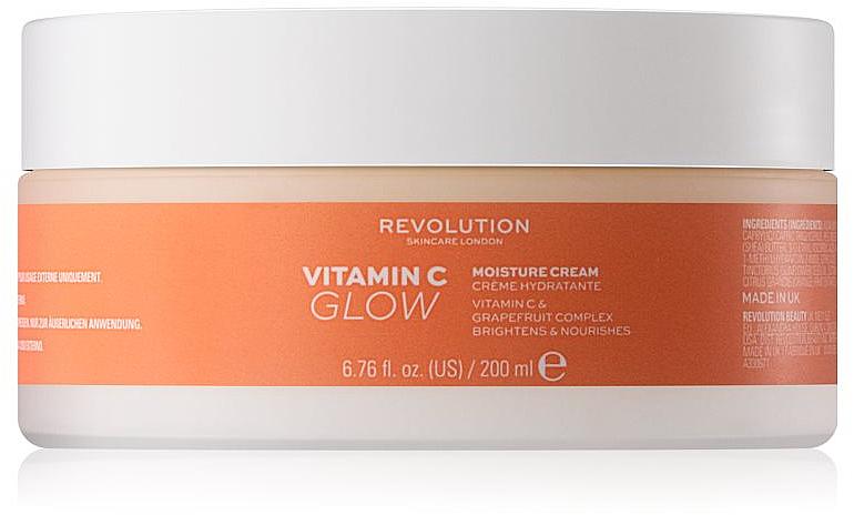 Nawilżający krem do ciała z witaminą C - Revolution Skincare Body Vitamin C Glow — фото N1
