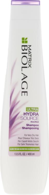 Nawilżający szampon do włosów bardzo suchych - Biolage Ultra Hydrasource Shampoo — фото N1