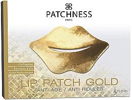 Kup Kolagenowa maseczka na usta - Patchness Lip Patch Gold