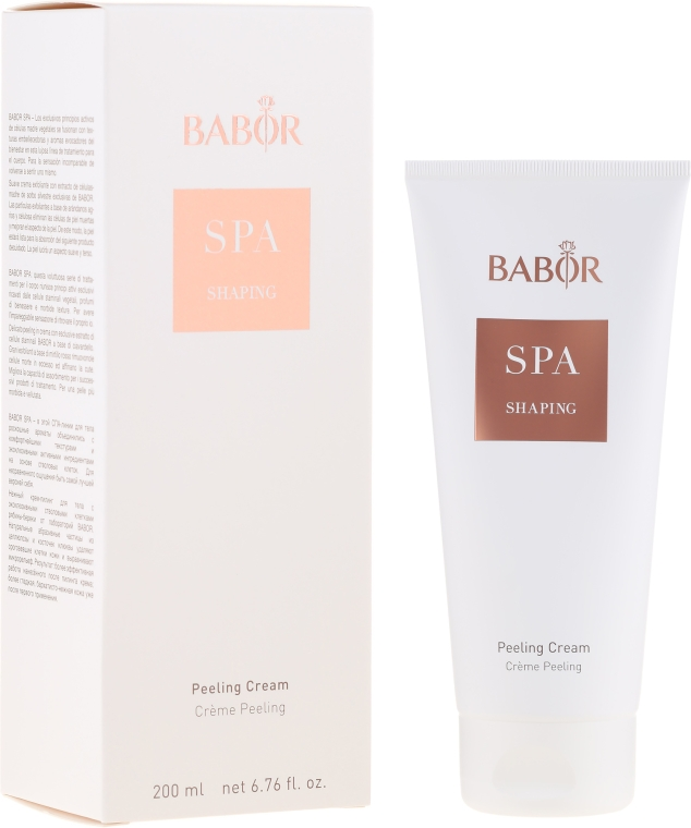 Krem-peeling do ciała - Babor SPA Shaping Peeling Cream — фото N1