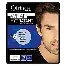 Kup Nawilżająca maska na tkaninie do twarzy dla mężczyzn - Qiriness Wrap Hydratant Moisture Purity Mask