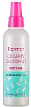Kup Mgiełka do ciała Kremowy kokos - Flormar Coconut Body Mist