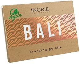 Kup Paletka bronzerów do twarzy - Ingrid Cosmetics Bali Bronzing Palette