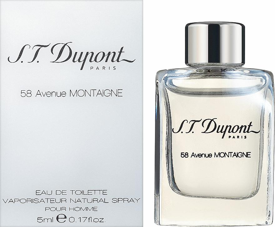 S.T. Dupont 58 Avenue Montaigne - Woda toaletowa (mini)