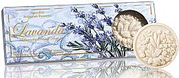 Kup Zestaw naturalnych mydeł w kostce Lawenda - Saponificio Artigianale Fiorentino Lavender Scented Soap (3 x soap 125 g)