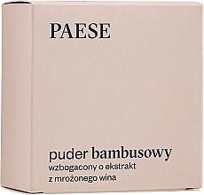 Kup Puder bambusowy wzbogacony o ekstrakt z mrożonego wina do cery mieszanej i tłustej - Paese Bamboo Powder Enriched With Ice Wine