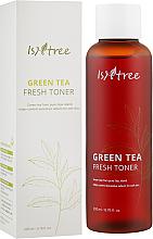 Kup PRZECENA! Odświeżający tonik do twarzy z ekstraktem z zielonej herbaty - IsNtree Green Tea Fresh Toner *
