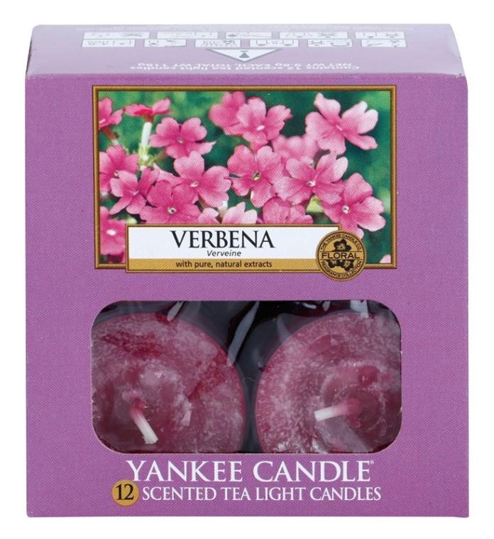 Podgrzewacze zapachowe tealight - Yankee Candle Scented Tea Light Candles Verbena — фото N3