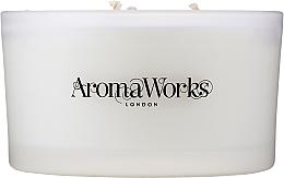 Kup Świeca zapachowa Serenity z trzema knotami - AromaWorks Serenity Candle 3-wick