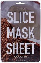 Kup Maska na tkaninie do twarzy Kokos - Kocostar Slice Mask Sheet Coconut