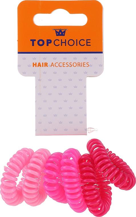 Zestaw gumek do włosów 22432, 6 szt. - Top Choice — фото N1