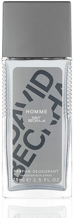 David Beckham Homme - Dezodorant w sprayu dla mężczyzn