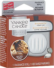 Zapach do samochodu (wymienny wkład) - Yankee Candle Charming Scents Refill Leather — фото N1