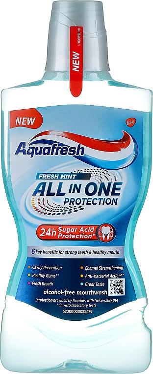 Płyn do płukania jamy ustnej - Aquafresh All In One Protection  — фото N1